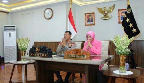 Rintisan 350 UMKM Bhayangkari di Seluruh Indonesia Diapresiasi Kapolri