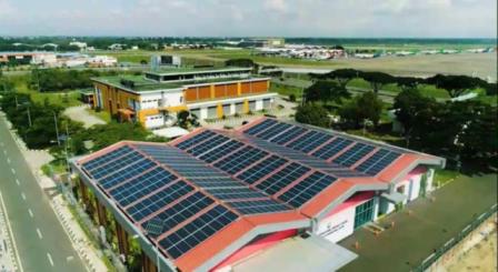 Manfaatkan Energi Matahari, Bandara Soetta Pasang Solar Panel