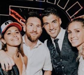 Luis Suarez Hengkang, Istri Messi Ikut Kehilangan