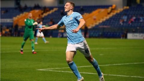 Liam Delap, Permata Muda Manchester City