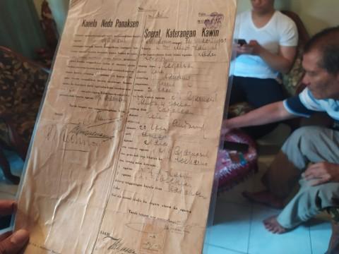 Surat Perceraian dan Pernikahan Sukarno-Inggit Garnasih akan Dijual
