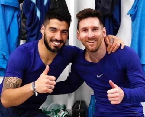 Messi Kecam Perlakuan Barcelona terhadap Suarez