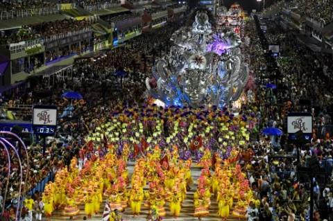 Brasil Tunda Karnaval Rio de Janeiro Akibat Covid-19