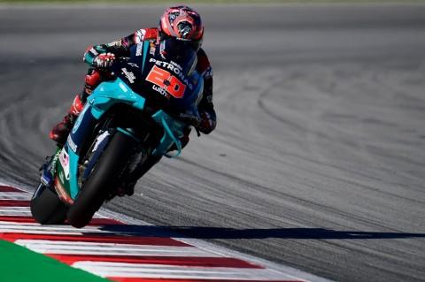 Fabio Quartararo Tercepat di FP1 MotoGP Catalunya