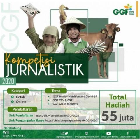 Lampung Post Sabet Juara Umum Lomba Karya Jurnalistik GGF
