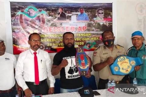 Dua Petinju Papua Siap Rebut Gelar WBC dan WBA