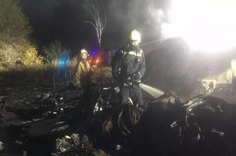 22 Orang Tewas dalam Kecelakaan Pesawat di Ukraina