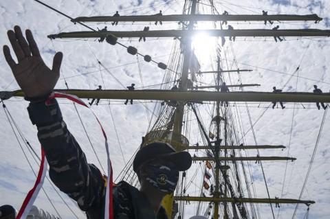 Taruna AAL Ikuti Pelayaran Keliling Indonesia