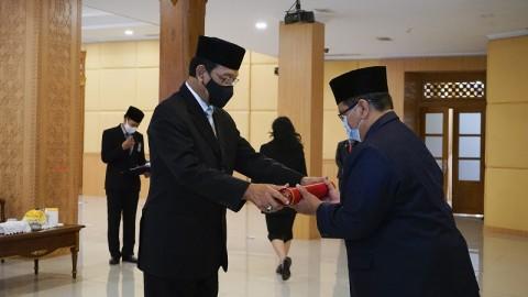 Kepala Bappeda DIY Pejabat Sementara Bupati Bantul
