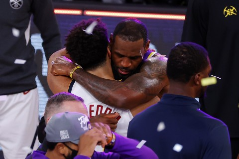LeBron James Pastikan Langkah LA Lakers ke Final NBA