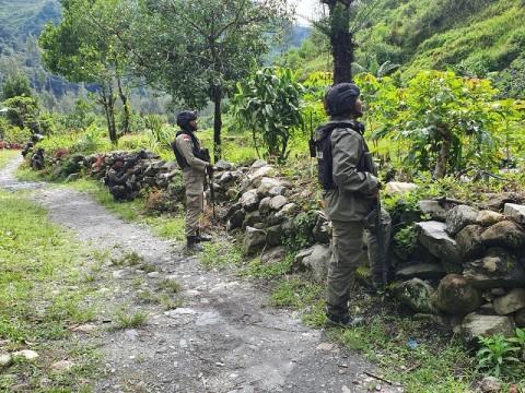 Aparat Gabungan Olah TKP Pembunuhan di Intan Jaya