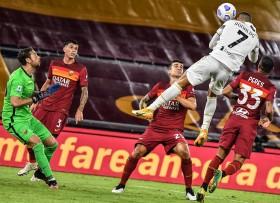 AS Roma vs Juventus: Cristiano Ronaldo Selamatkan Juventus dari Kekalahan