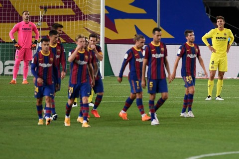 Barcelona vs Villarreal: Messi Cetak Gol, Barcelona Memberondong Empat Gol ke Villarreal