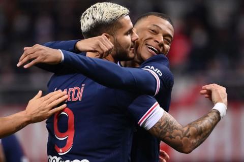 Brace Mauro Icardi Bawa PSG Tekuk Reims 2-0