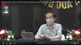 Jokowi Jamin Seluruh Pengobatan Covid-19 Sesuai Standar Kemenkes