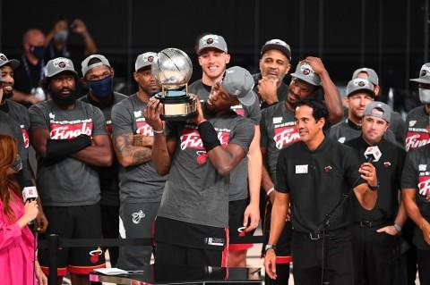 Angkat Trofi Wilayah Timur, Miami Heat Tantang Lakers di NBA Finals