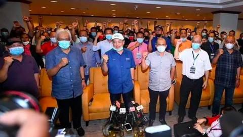 GRS Tunjuk Hajiji Noor Jadi Menteri Utama Sabah yang Baru