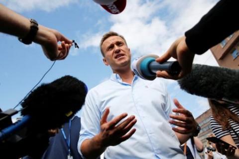 Navalny Sebut Kanselir Jerman Menjenguknya saat Dirawat di RS Berlin