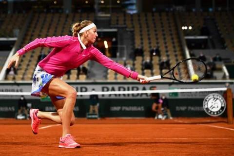 Petra Kvitova Melaju ke Putaran Kedua French Open 2020