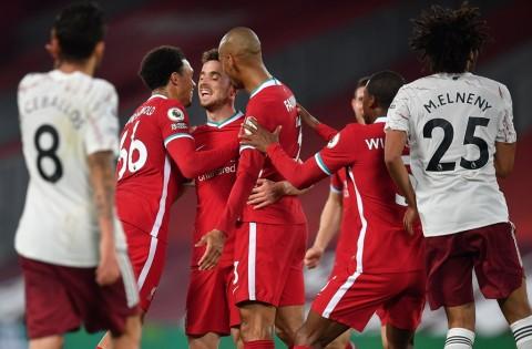 Hasil Lengkap Pertandingan Sepak Bola Semalam: Liverpool Menumbangkan Arsenal