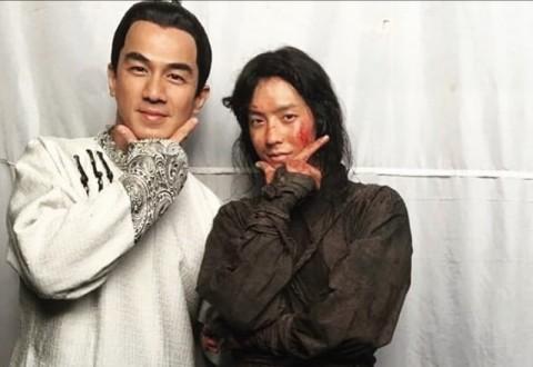 Joe Taslim Memuji Debut Akting Minhyuk BTOB di Film The Swordsman