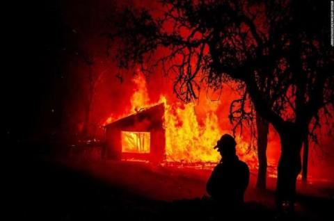 Kebakaran Hutan Zogg Fire di California Tewaskan 3 Orang