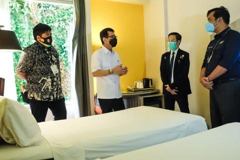 Hotel untuk Isolasi Pasien Covid-19 Mulai Digunakan