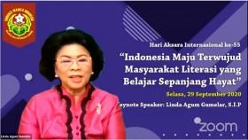 Linda Gumelar: Penyandang Buta Aksara di Indonesia Mayoritas Perempuan