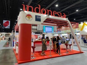 Makanan dan Minuman Indonesia Mencuri Perhatian Pengunjung Pameran Thaifex