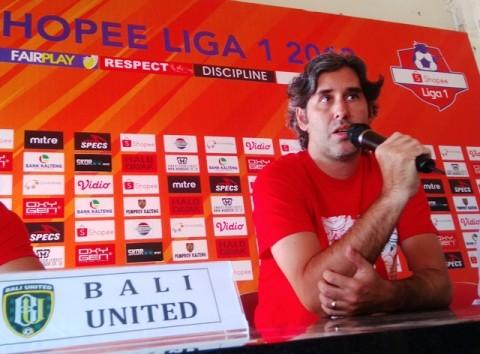 Pelatih Bali United Kecewa Liga 1 Ditunda