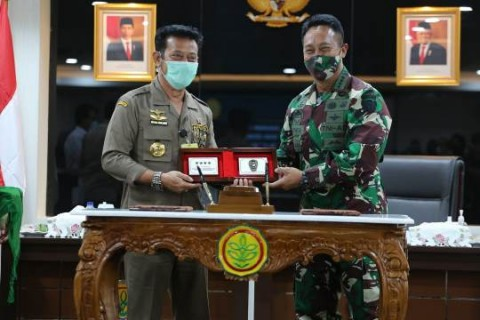 Kementan Dibantu TNI AD Percepat Program <i>Food Estate</i>