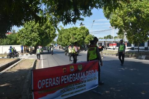 21 Ribu Pelanggar Terjaring Operasi Protokol Kesehatan di Cirebon