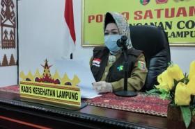 Dinkes Lampung Sebut Pejabat Terpapar Covid-19 Lalai Prokes