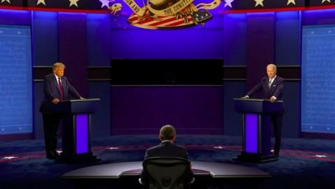 Joe Biden Sebut Donald Trump 'Badut' dalam Debat Presiden AS