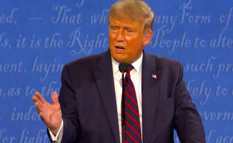 Dalam Debat, Trump Serang Putra Joe Biden