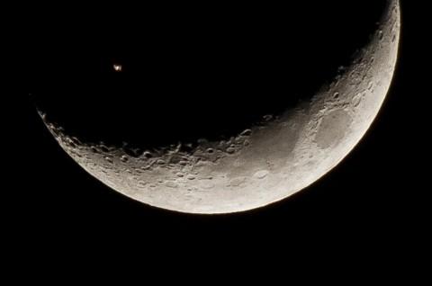 Radiasi Bulan 200 Kali Lebih Tinggi dari Bumi