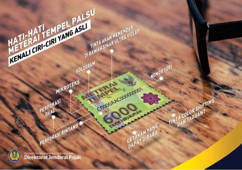 Tarif Bea Meterai Indonesia Lebih Murah dari Negara Lain