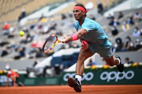Juara 12 Kali, Rafael Nadal Menang Mudah di Babak Kedua