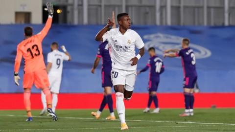 Real Madrid vs Real Valladolid: Vinicius Junior Pahlawan Los Blancos