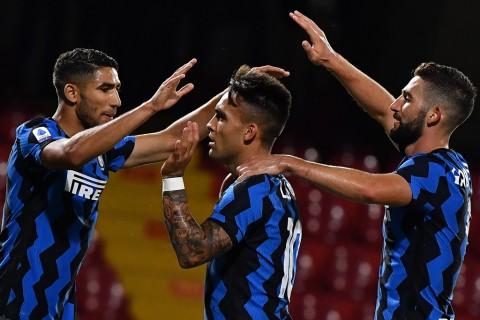 Hasil Lengkap Liga Italia Serie A: Inter Milan dan Atalanta Berpesta