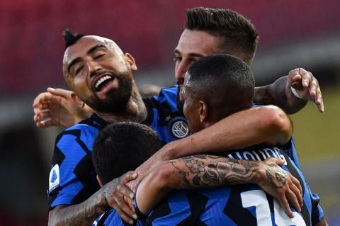 Drama Tujuh Gol Warnai Kemenangan Inter Atas Benevento