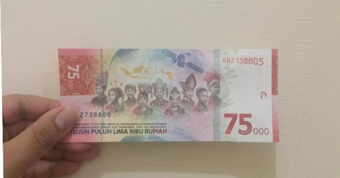 Mulai Hari Ini, Uang Khusus Rp75 Ribu Bisa Ditukarkan di Semua Bank