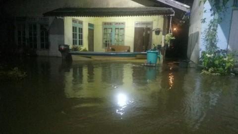 Ratusan Rumah di Tanggamus Terendam Banjir