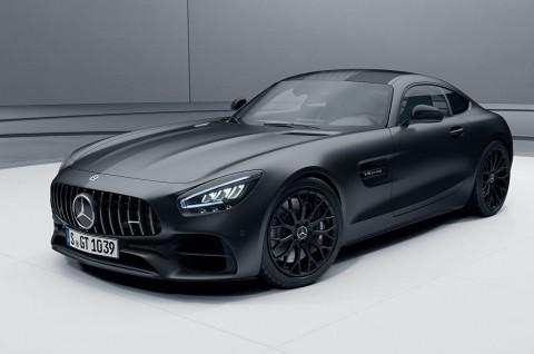 Mercedes-AMG GT Menghitam dengan Stealth Edition