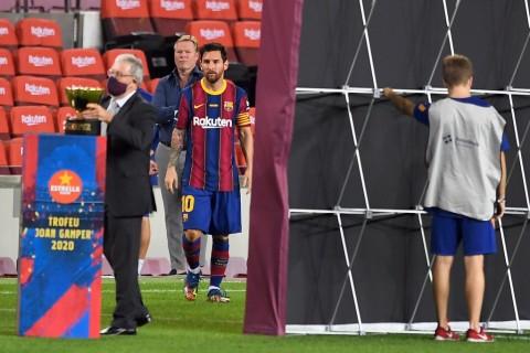 Ronald Koeman: Kebahagiaan Lionel Messi bukan di Tangan Saya