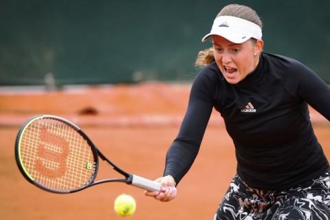 Ostapenko Singkirkan Unggulan Kedua Pliskova di French Open 2020