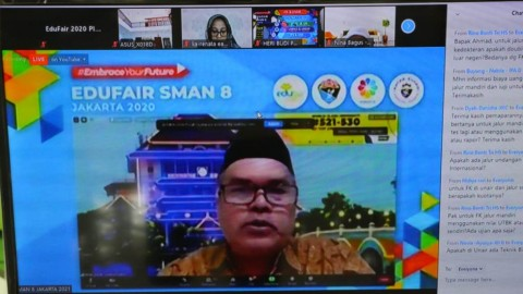 SMAN 8 Jakarta Gelar Edufair Jilid III