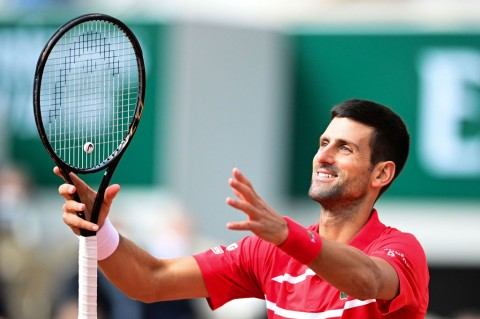 Djokovic Catat Kemenangan ke-70 di Roland Garros
