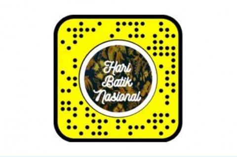 Snapchat Meriahkan Hari Batik Nasional via Lensa AR Khusus