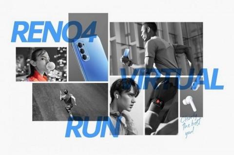 Oppo Buka Pendaftaran Reno 4 Virtual Run